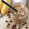 Coffee-Banana breakfast shake