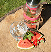 Watermelon-Strawberry-Mint-Water